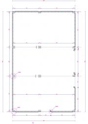 Schuinesloot-grondplan